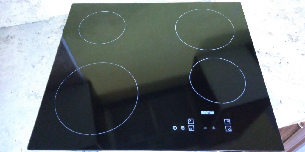 Варочная панель Electrolux induction 520x590  после замены стекла
