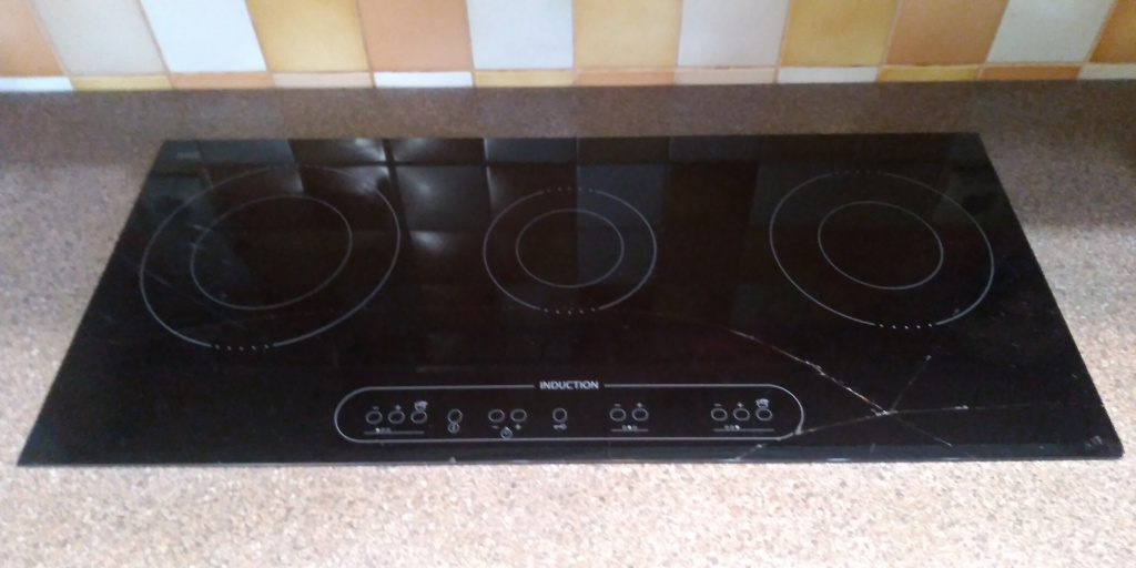 Whirlpool(IKEA) induction 770x350 до замены